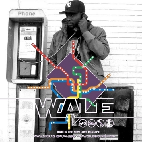 Album cover for Hate is the New Love by Wale