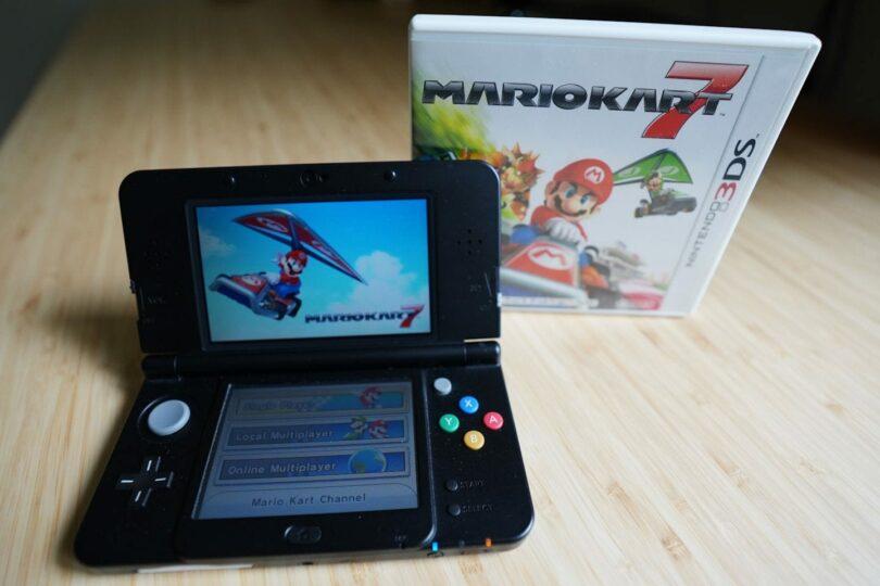 Mario Kart 7 on a New Nintendo 3DS