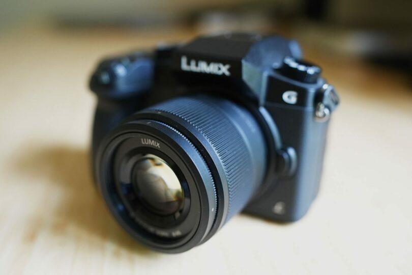 My Panasonic Lumix G7 with 20mm 1.8 Panasonic Lens